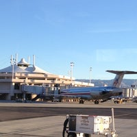 Photo taken at Palm Springs International Airport (PSP) by Signe B. on 2/15/2013
