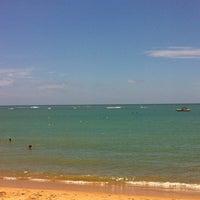 Photo taken at Praia do Forte by Edinéia R. on 1/3/2013