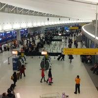 Photo taken at Terminal 5 by Sam M. on 12/18/2012