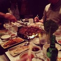 Photo taken at Don's Bogam Korean BBQ & Wine by Steve J. on 12/1/2012