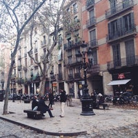 Photo taken at Passeig del Born by Elena P. on 12/15/2014
