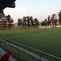 Photo taken at Deportivo Leandro Valle by Eduardo V. on 1/5/2013
