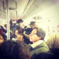 Photo taken at MTA Subway - Manhattan Bridge (B/D/N/Q) by Marc L. on 11/29/2012