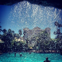 Photo taken at The Mirage Pool & Cabanas by Mike G. on 9/21/2012