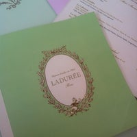 Photo taken at Ladurée by Nad K. on 5/8/2013