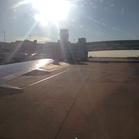 Photo taken at Gate A44 by Camille S. on 7/8/2013