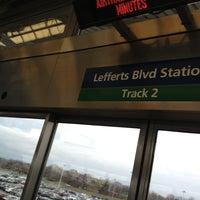 Photo taken at JFK AirTrain - Lefferts Boulevard by Chris W. on 12/9/2012