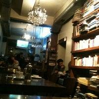 Photo taken at Tezgah Kitapevi Cafe Bar by Sena K. on 4/7/2013