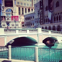 Photo taken at Venetian Canal by Abed R. on 3/31/2013