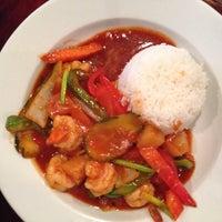 Photo taken at Tasty Thai & Sushi by Brandi W. on 3/4/2014