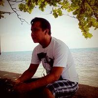 Photo taken at Gazzebo Pinggir Laut by firmana A. on 12/15/2012