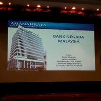 Photo taken at Bank Negara Malaysia by Kasyfi M. on 10/27/2016