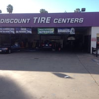 Photo taken at Discount Tire Centers by Myles Y. on 12/12/2013