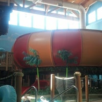 Photo taken at Splashers of the South Seas by Rebecca S. on 8/1/2013