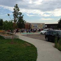 Photo taken at Southern Hills Middle School by Daniel P. on 8/22/2013