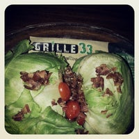 Photo taken at Grille 33 at The Channel by Robert B. on 5/3/2013