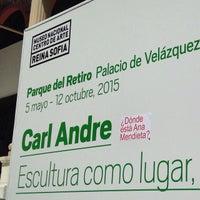 Photo taken at Restaurante-Café Arola ( Museo Reina Sofía ) by Javier A. on 5/12/2015