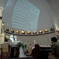 Photo taken at Gereja Santa Theresia by Ido S. on 11/24/2012