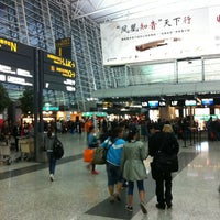 Photo taken at Guangzhou Baiyun Int'l Airport (CAN) by Agayev on 4/12/2013