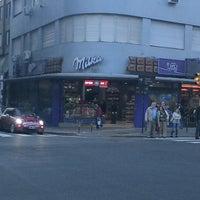 Photo taken at Avenida Corrientes by Gabriel V. on 6/10/2013