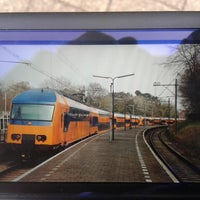 Photo taken at Station Overveen by Bert H. on 3/30/2014