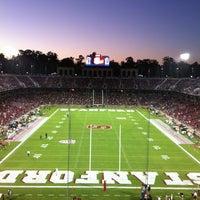 Photo taken at Stanford Stadium by Vic D. on 9/8/2013