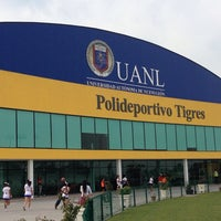 Photo taken at Polideportivo Tigres UANL by Vic P. on 12/1/2013