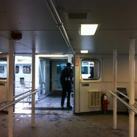 Photo taken at Billy Bishop Toronto City Airport Ferry by Katherine C. on 1/26/2013