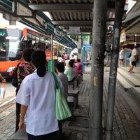 Photo taken at BMTA Bus Stop บางปะแก้ว (Bang Pakaeo) by ศิริวรรณ ว. on 10/16/2012