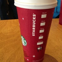 Photo taken at Starbucks by P A T R I C K D. on 12/28/2012