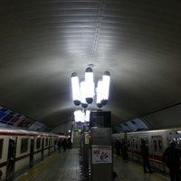 Photo taken at Midosuji Line Yodoyabashi Station (M17) by kenjin on 2/1/2013
