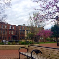Photo taken at Fitler Square by Amanda D. on 4/2/2016