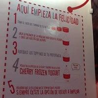 Photo taken at Cherry Frozen Yogurt by Jude P. on 10/9/2012