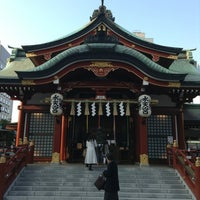 Photo taken at 水天宮 by Hiromi on 1/9/2013
