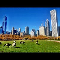 Photo taken at Grant Park by Clint B. on 10/21/2012