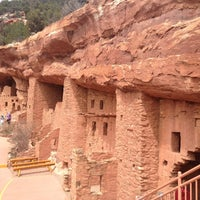 Photo taken at Manitou Cliff Dwellings by Angelika B. on 4/21/2013