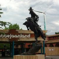 Photo taken at Bobbejaanland by L'ermite R. on 6/25/2013