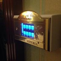 Photo taken at Hotel Vittoria by Studio Vicard-Bianchi on 11/13/2014