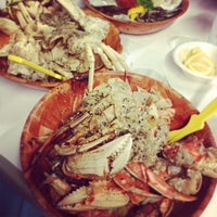 Photo taken at Rustic Inn Seafood Crabhouse by Ty W. on 2/28/2013