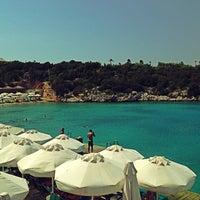 Photo taken at Hilton Bodrum Türkbükü Resort & Spa by Mehmet K. on 7/22/2013