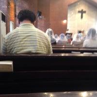 Photo taken at Jungang-dong Catholic Church by Seungyeon H. on 5/31/2014