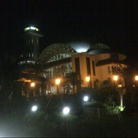 Photo taken at Masjid Atta'awun by desy a. on 7/6/2013