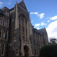 Photo taken at Georgetown University by Haowei C. on 5/11/2013