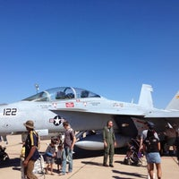 Photo taken at Marine Corps Air Station Miramar by Haowei C. on 10/14/2012