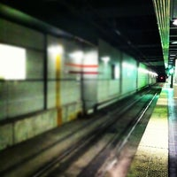 Photo taken at RTA Tower City Rapid Station by David M. on 11/20/2012