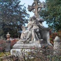 Photo taken at Oakland Cemetery by Friar F. on 2/4/2013