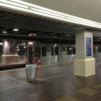 Photo taken at RTA Tower City Rapid Station by Wulfgar D. on 11/21/2012