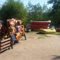 Photo taken at Рафтинг в Лосево by Sergey S. on 7/13/2014