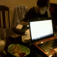 Photo taken at Cozy Café by RaihanGhaZzani H. on 11/29/2012