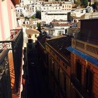 Photo taken at Hostal Atenas Granada by Jülide A. on 12/5/2014